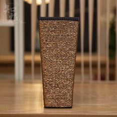 Price Known Root Fashion Living Room Floor Wooden Large Vase Oem Online