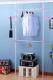 Buy Korea Standing Pole Clothes Hanger Rack 2502 Pink Singapore
