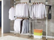 Who Sells Korea Standing Pole Clothes Hanger Rack 2503 Black