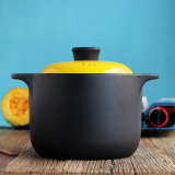 Sale Korean 4L Large Casserole Ceramic Cooker Home Hot Stone Pot Fire Soup Casserole Heat Resistant Clay Pot Rice Soup Oem Online