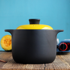 Buy Korean 4L Large Casserole Ceramic Cooker Home Hot Stone Pot Fire Soup Casserole Heat Resistant Clay Pot Rice Soup Oem Cheap