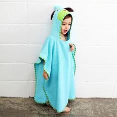 Discount Cute Cotton Hooded Baby Bathrobe Oem China