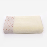 Get The Best Price For Kutto Wide Paragraph Dot Cotton *D*Lt Men And Women Absorbent Soft Home Couple Simple Plain Bath Towel