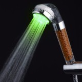 L Size Led Anion Spa Shower Head Filtration Handheld 3 Color Changing Bathroom Intl Discount Code