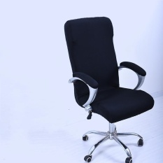 Best Deal L Spandex Office Chair Cover Slipcover Armrest Cover Computer Seat Cover Stool Swivel Chair Elastic Chair Is Not Included Intl