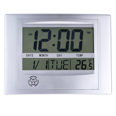 La Crosse Technology Wt 8002U Digital Wall Clock Review
