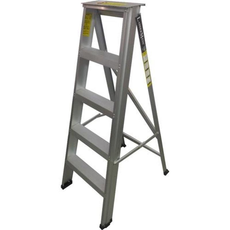 Laddermenn Aluminium Heavy Duty ( Hd05 ) 5 Step