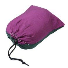 LALANG Outdoor Hammock Double Camping Survival Parachute Cloth Portable (Purple&Dark Green)