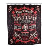 Lalang Tattoo Pirate Printing Polyester Shower Curtain Waterproof Price Comparison