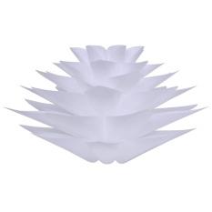 Lampwin DIY Lotus Chandelier&Amp;IQ PP Pendant Lamp (White) - intl