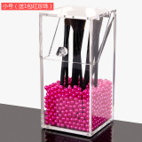 Buy Large Acrylic Storage Makeup Brush With Bucket Cheap On China