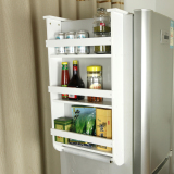 Coupon Large Capacity Anti Refrigerator Kitchen Storage Rack Kitchen Shelf
