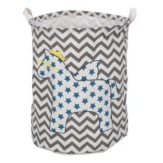 New Large Clothes Storage Laundry Basket Kids Toy Organizer Star Horse Intl