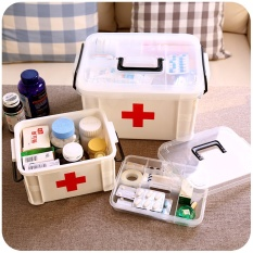 Buy Large Family Home Medicine Chest Cabinet Health Care Plastic Drug First Aid Kit Box Storage Box Chest Of Drawers Intl Online