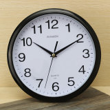 Purchase Large Vintage Round Modern Home Bedroom Retro Time Kitchen Wall Clock Quartz Black