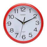Discount Large Vintage Round Modern Home Bedroom Retro Time Kitchen Wall Clock Quartz Red Oem China