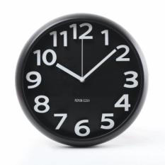 Best Offer 12 Inch Lazy Corner Wall Clock