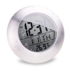 Low Price Lcd Bathroom Shower Clock Displays Time Date Week And Temperature W Suction Cup