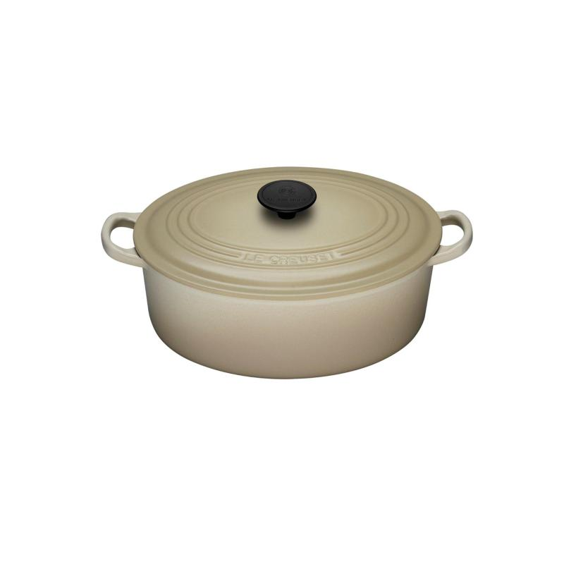 Le Creuset Cast Iron Oval French Oven 27cm, Classic (Dune) Singapore