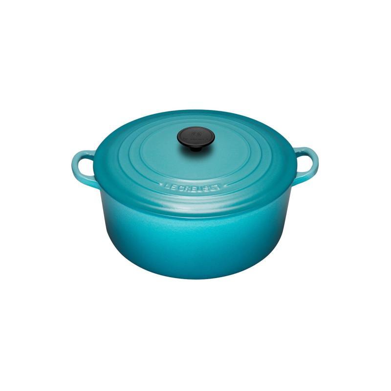Le Creuset Cast Iron Round French Oven 20cm, Classic (Caribbean Blue) Singapore
