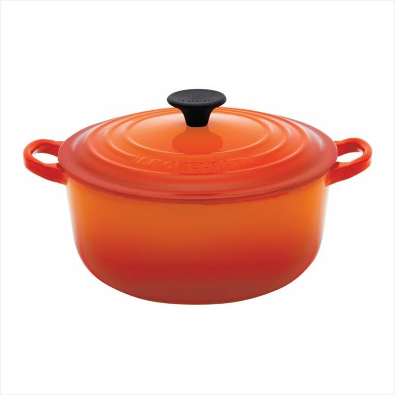 Le Creuset Cast Iron Round French Oven 28cm, Classic (Flame) Singapore