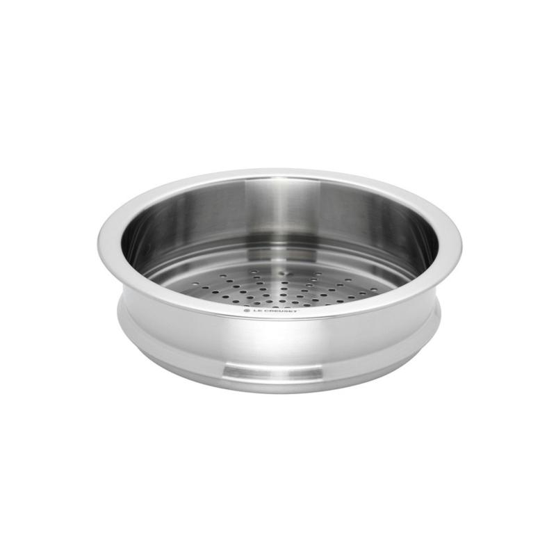 Le Creuset Stainless Steel Steamer 20cm Accessory Singapore
