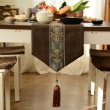 Sale Modern European Style Coffee Table Cloth Mat Hanging Ear Bed End Towel Table Flag Oem