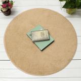 Buy Leadsea 120Cm Fluffy Rug Non Slip Round Shaggy Rug Living Room Bedroom Carpet Floor Mat Camel Intl Oem