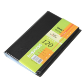 Discount Leather 120 Cards Business Name Id Credit Card Holder Book Case Keeper China