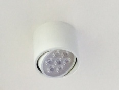 Cheap Led 7W White Frame Surface Mount Spot Light Daylight