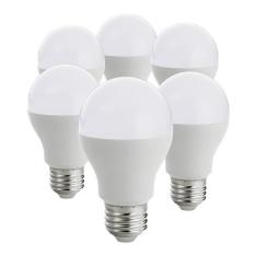 LED Bulbs E27 Light Bulbs, A19 Globe Blub, 9W Equivalent to Traditional 60W Bulb, 3000k, Soft White (Pack of 6) - intl Singapore