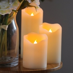 LED Candles Light Battery Operated Electric candle Wedding BirthdayParty Christmas Decoration - intl