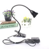 Led Desk Lamp Table Bedside Study Reading Light Clip On Off Clamp Black Warm White Intl Coupon