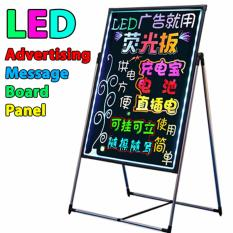 LED Fluorescent Advertising Message Writing Display Board Panel - 60x80cm
