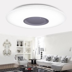 Led Music Flush Mount Modern Ceiling Light Lamp Fixture With Bluetooth Speaker Intl Discount Code