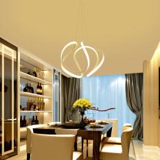 LED Pendant light 44*32CM (Warm Light) DSX3368 Creative Acrylic Lamps Bar Restaurant Bedroom Ceiling Lightings - intl