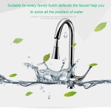 Best Deal Led Pull Out Spray 360 Degrees Swivel Spout Kitchen Faucet In Chrome Finish D Intl