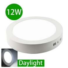 Best Offer Led Surface Mounted 12W Downlight Concrete Cement Ceiling Light Outdoor Garden Balcony Daylight Intl