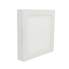 Sale Led Surface Panel Ceiling Light Square 12W Warm Colour Oem Branded