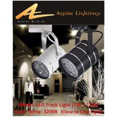 Best Price Led Tracklight Black 12W Cool White