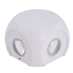 Led Wall Lamps With Switch Button 4w 85-265v Ac Light Bedroom Lighting(white)-White Light - Intl By Crystalawaking.