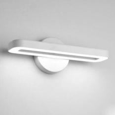 LED Wall Light Modern Bedroom Mirror Front Lamp Living Room TV Wall Light Study Reading Office Wall Light , white - intl