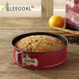 Who Sells Leegoal Cake Pan 9 Inch Non Stick Springform Pan Round Cake Pan Cheesecake Pan Baking Tools Red Intl