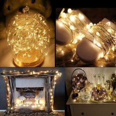 Store Leegoal Led Fairy String Lights Indoor And Outdoor 2M 20 Leds Copper Wire Light Battery Powered For Christmas Bedroom Garden Party Wedding Diy Decoration 8 Pack Warm White Intl Leegoal On Singapore