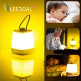 Sale Leegoal Portable Led Bedside Lamp Dimmable Bedroom Lamp Night Light For Adults And Children Yellow Light