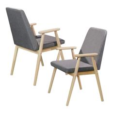 Leone Dining Chair - Set of 2 (FREE DELIVERY)(FREE ASSEMBLY)