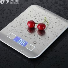 Sales Price Leyi Precision Household Kitchen Scale Baking Weighing Food White Intl