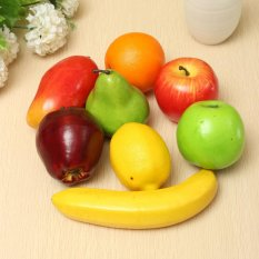 Lifelike Plastic Fruit Kitchen Artificial Fake Food Display Home Decor Craft - intl