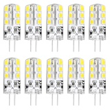 Lightme 10Pcs Dc 12V 2W G4 Smd 2835 Led Dimmable Lamp Bulb Spotlight With 24 Leds Intl Deal
