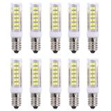 Promo Lightme 10Pcs E14 Ac 220V 3W Smd 2835 Cool Light Led Bulb With 75 Leds White